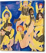 The Chorus Line Canvas Print