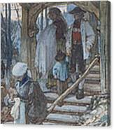 The Christening Gate In Lausanne, C.1861 Canvas Print