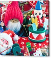 The Christmas Clown II Canvas Print