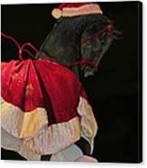 The Christmas Horse Canvas Print