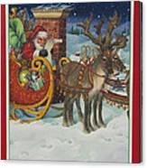 The Christmas List Canvas Print