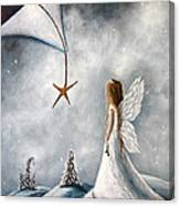 The Christmas Star Original Artwork Canvas Print