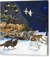 The Christmas Star Canvas Print