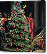 The Christmas Tree Of The Horatii Canvas Print