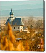 The Church In Stanca Canvas Print