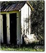 The Church Outhouse Canvas Print