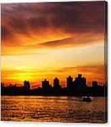 The City Awakes Canvas Print
