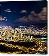 The City Of Aloha Canvas Print