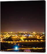 The City Of Jerusalem Canvas Print