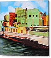 The City Of Matanzas In Cuba Canvas Print