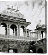 The City Palace Udaipur Canvas Print