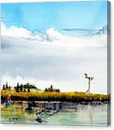 The Clammer Canvas Print
