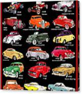 Ford Poster Art Canvas Print