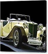 The Classic Mg Canvas Print