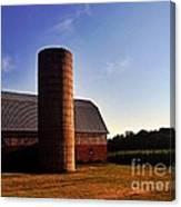 The Clayton Barn Canvas Print