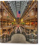 The Cleveland Arcade V Canvas Print