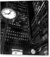 The Clock Canvas Print