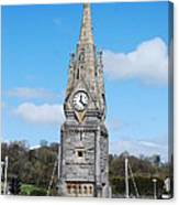 The Clock Tower Waterford Canvas Print