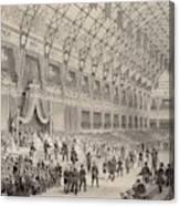 The Closing Ceremony Of The  Paris Canvas Print