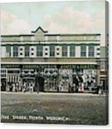 The Co-operative Stores At  North Canvas Print