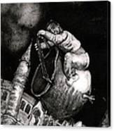The Coal Scuttle Rider Canvas Print