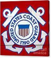The Coast Guard Shield Canvas Print