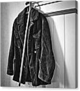 The Coat And The Cane Canvas Print