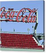The Coca-cola Corner Canvas Print