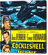 The Cockleshell Heroes, Us Poster, Left Canvas Print