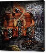 The Coffer Of Spells Canvas Print
