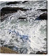 The Cold Atlantic 1 Canvas Print