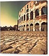 The Coliseum In Rome Canvas Print