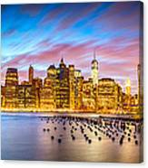The Color Of New York City Canvas Print
