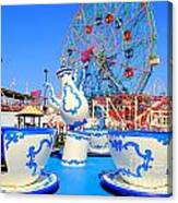 The Colors Of Coney Canvas Print