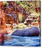 The Colors Of Oak Creek Canvas Print