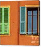 The Colors Of Old Nice Canvas Print