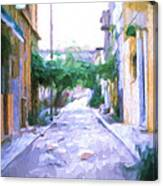 The Colors Of The Streets Canvas Print