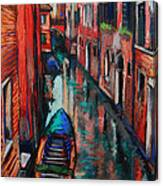 The Colors Of Venice Canvas Print