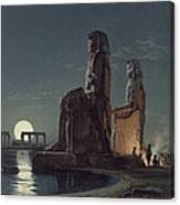 The Colossi Of Memnon, Thebes, One Canvas Print