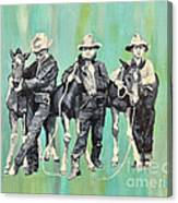 The Colt Whisperers Canvas Print
