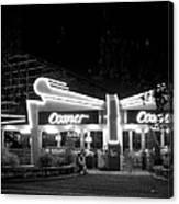 The Comet Roller Coaster - St Louis 1950 Canvas Print