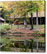 The Commissioners Cabin In Autumn Canvas Print