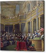 The Committee Of Lyon, 26th January 1802, 1808 Oil On Canvas Canvas Print