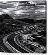 The Commute Canvas Print