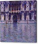 The Contarini Palace Canvas Print