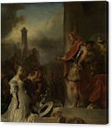 The Continence Of Scipio, Jan Van Noordt Canvas Print