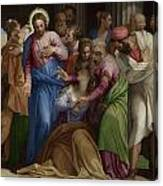 The Conversion Of Mary Magdalene Canvas Print