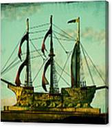 The Copper Ship Canvas Print