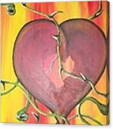 The Core Of My Heart Canvas Print