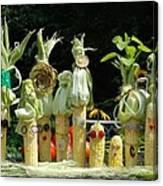 The Corn Family Canvas Print